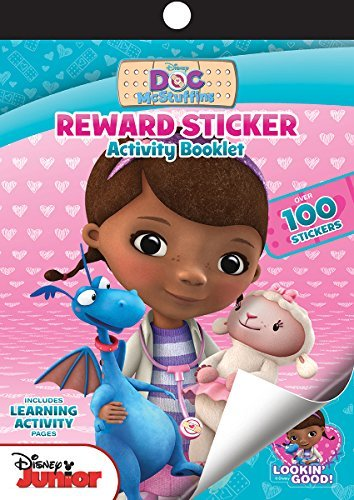 Bendon 10217 Doc McStuffins Reward Stickers, Multicolor]()