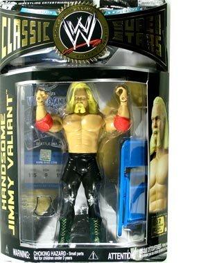 HANDSOME JIMMY VALIANT - WWE Wrestling Classic Superstars Series 12 Action Figure by Jakks by WWE Classic Superstars Series 12 [parallel import goods] by WWE