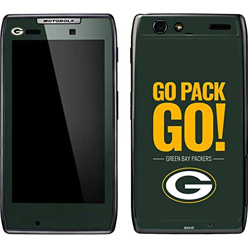 Green Bay Packers Droid Razr Maxx by Skin - Green Bay Packers Team Motto | NFL X Skinit Skin ()
