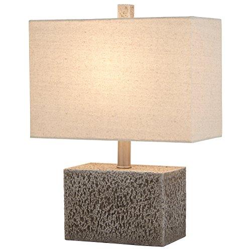 Stone & Beam Modern Slate Rock Table Lamp, 16