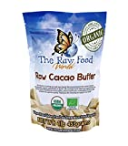 Raw Organic Cacao Butter, 16oz, The Raw Food World