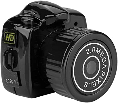 Opinión sobre Tosuny Mini HD Cámara, Cámara de Video Digital Micro Oculta de Visión Nocturna Mini DVR DV Cámara, Compatible con 32 GB Tarjeta TF, Fotos de 1280 * 720