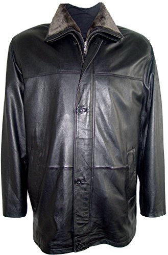 Johnny 2001 Big Man Leather Jacket Business Clothing Coat Tall and All Size by Johnnyblue (Image #8)