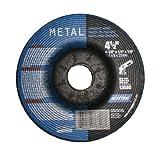 "Norton Grinding Wheels 4 1/2"" x 1/4"" x 7/8"" - Metal"