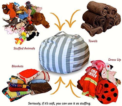 Creative Qt Stuff N Sit The Stuffable Storage Bean Bag