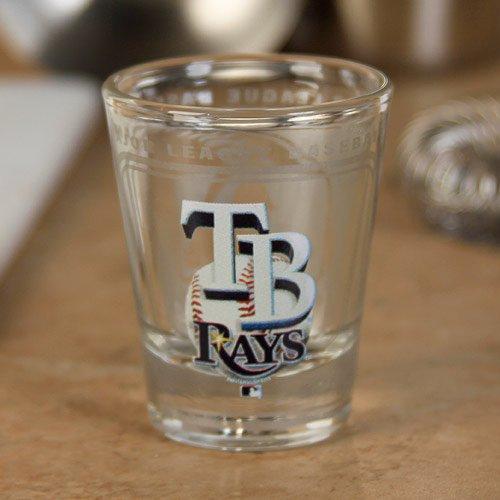 (Hunter MLB Tampa Bay Rays 2oz. High-Definition Design Shot Glass )