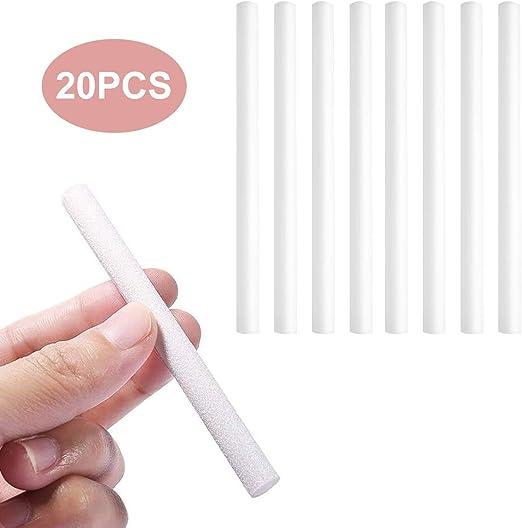 Expower - Barras de algodón para filtros (20 Unidades), Color ...