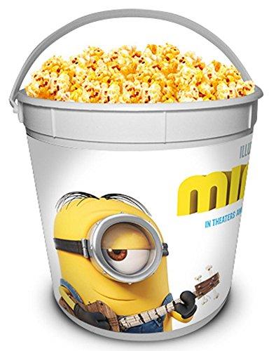 Minions Movie Theater Exclusive 170 oz Plastic Popcorn Tub