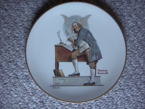 Norman Rockwell 1976-Limited Edition Collector Plate