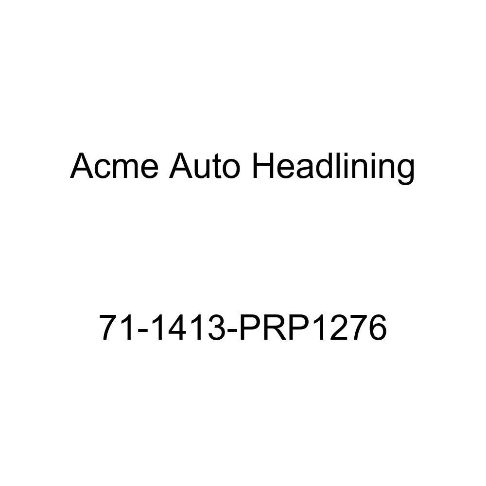 5 Bow Acme Auto Headlining 71-1413-PRP1276 Dark Green Replacement Headliner 1971 Chevrolet Camaro 2 Door Hardtop