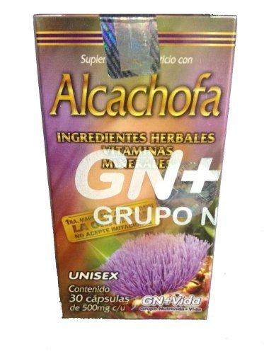Pastillas de Alcachofa/Artichoke Pills by GN+Vida