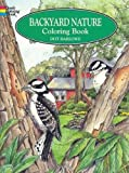 img - for Backyard Nature Coloring Book (Dover Nature Coloring Book) book / textbook / text book