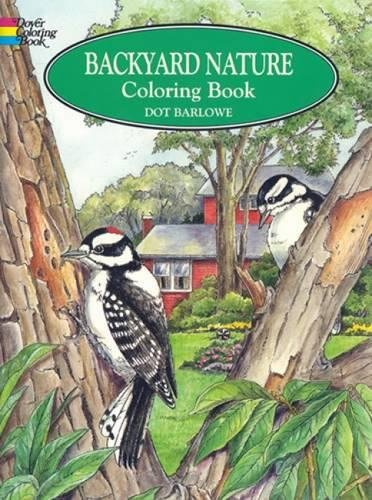 Backyard Nature Coloring Book Dover product image