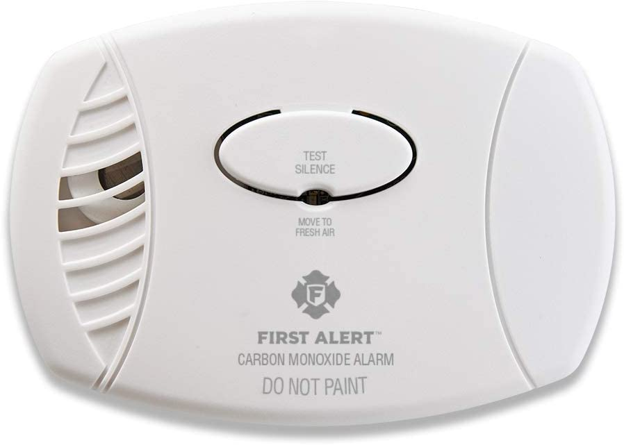 First Alert CO400 Carbon Monoxide Detector, White, Pack of 1