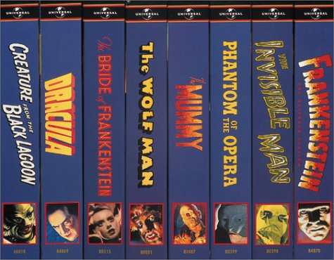 Classic Monsters Collection [VHS] by Universal Studios Ho