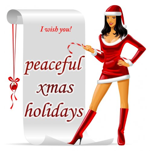 Peaceful Xmas Holidays (The First Holy Noel Christmas Lounge Collection)