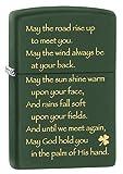 Zippo - Irish Blessing, Green Matte Zippo