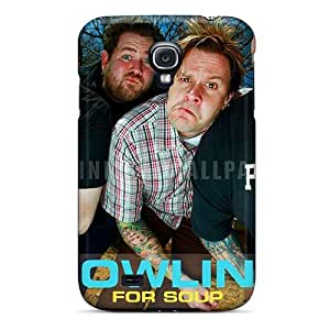 Samsung Galaxy S4 IZV17894NLqH Support Personal Customs Colorful Bowling For Soup Band Series Shockproof Hard Phone Cases -AaronBlanchette