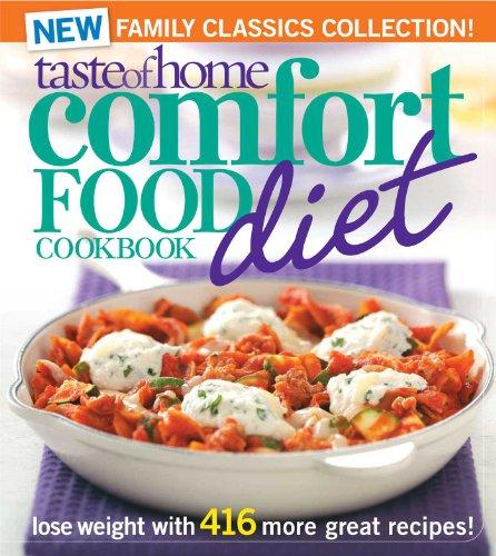 Taste of Home Comfort Food Diet Cookbook: New