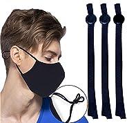 IUAQDP Sewing Elastic Band Cord with Adjustable Buckle Stretchy Earloop Lanyard Earmuff Rope DIY Mask Making S