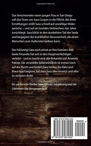 Feuernacht Ein Sara Cooper Roman 7 German Edition Petra