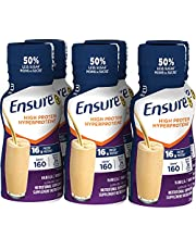 Ensure High Protein 16g, Ready-to-Drink Nutritional Supplement, Vanilla, 6 x 235 ml