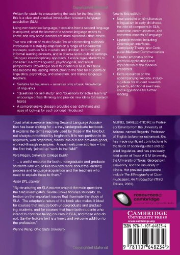 Introducing Second Language Acquisition (Cambridge Introductions to Language and Linguistics) by Cambridge University Press