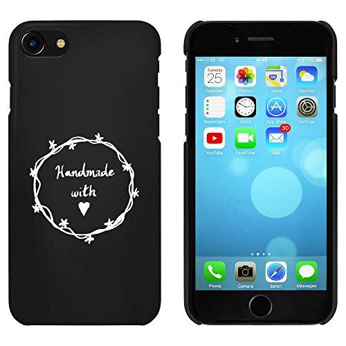 Noir 'Handmade With Love' étui / housse pour iPhone 7 (MC00069713)