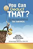 img - for You Can Deduct THAT? How small business owners can transform ordinary spending into tax savings book / textbook / text book