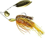 Terminator Super Stainless Spinnerbait with Blades Colorado/Willow in Gold/Gold