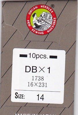 オルガンミシン針 No14 工業用 (DB) 1袋(10本入)