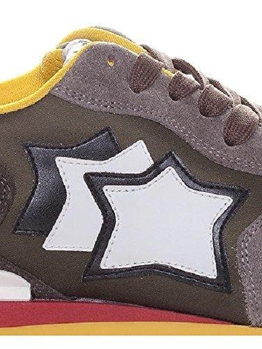 Atlantic Stars , Herren Sneaker Grey Brown Multicolor