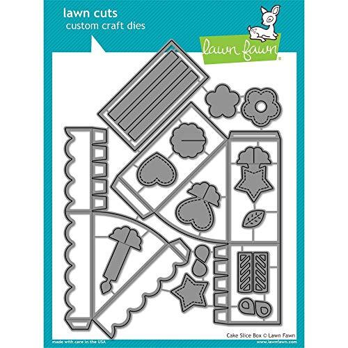 Lawn Fawn Cake Slice Box Custom Craft Die (LF 1973)