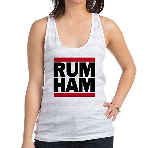 CafePress - Rum Ham DMC_Light - Womens Racerback Tank Top, Stylish Cotton Sports Tank for $<!--$9.99-->