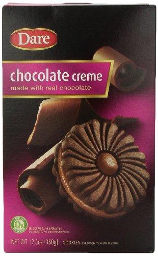 (Dare Cookies, Chocolate Cream, 12.3 oz)