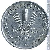 1964 Hungarian 20 Filler