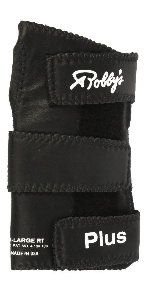 Robby's Leather Plus Left Wrist Support, Large