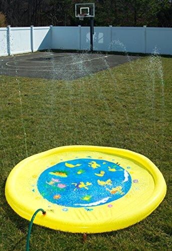 Splashin Kids 68 Quot Sprinkle And Splash Play Mat Toy For