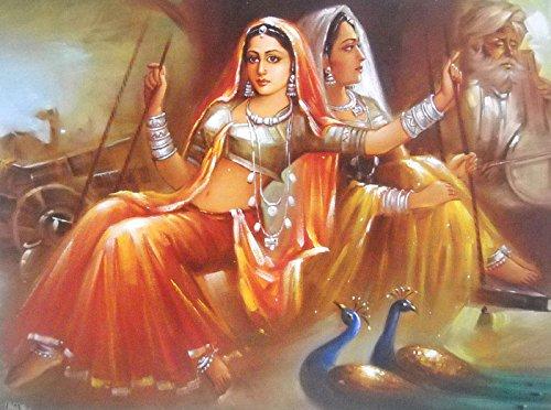 Banjara Beauties Indian Poster/ Art of India: Reprint on Paper