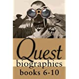 Quest Biographies Bundle — Books 6–10: John Franklin / Marshall McLuhan / Phyllis Munday / Wilfrid Laurier / Nellie McClung (Quest Biography)