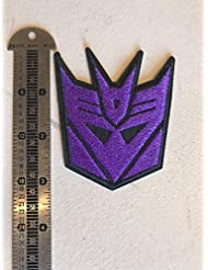 Transformers Decepticon Iron on Patch