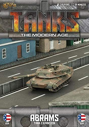 Tanks Miniatures Game - British Gale Force Nine - M1a1 Tank