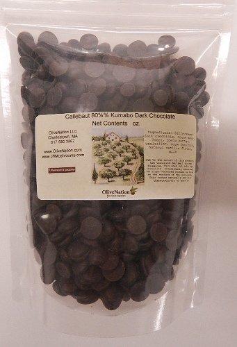 (Callebaut 80% Kumabo Dark Bittersweet Baking Chocolate 1/2 lb)