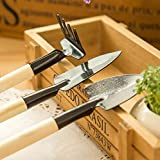 LIVDAT 3 Pcs Mini Garden Hand Tools Transplanting Tools Succulent Tools Miniature Planting Gardening Tool Set for Indoor Miniature Fairy Garden Plant Herb Care