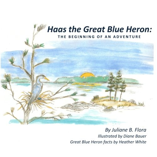 Haas The Great Blue Heron: The Beginning of an Adventure