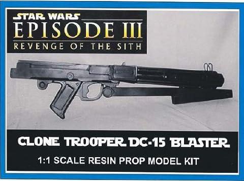 Star Wars Clone Trooper DC-15 Prop Model Kit - Trooper Model