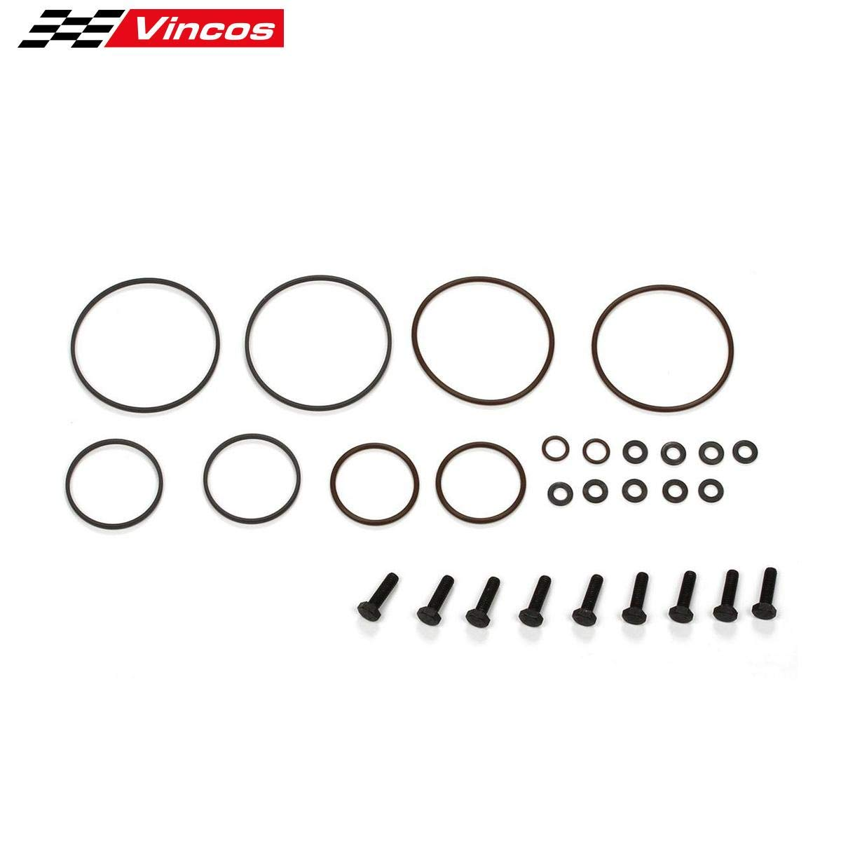 DOUBLE TWIN DUAL VANOS SEALS REPAIR KIT Replacement For BMW 3 SERIES E46 M52 M54 M56