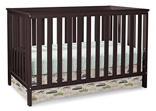 Storkcraft Rosland 3-in-1 Convertible Crib - Espresso by Stork Craft
