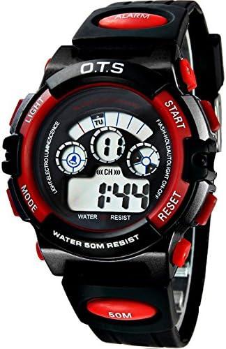 Boys女の子防水光ウォッチファッションスポーツデジタルwatch-g