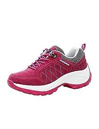 Shake Shoes Fashion Women Increased Nubuck Leather Casual Sports Platform Shoes